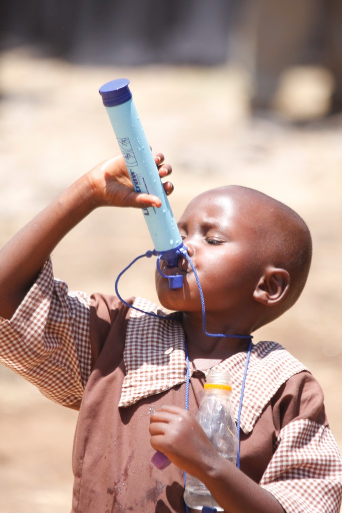 the-LifeStraw-to-drink-water