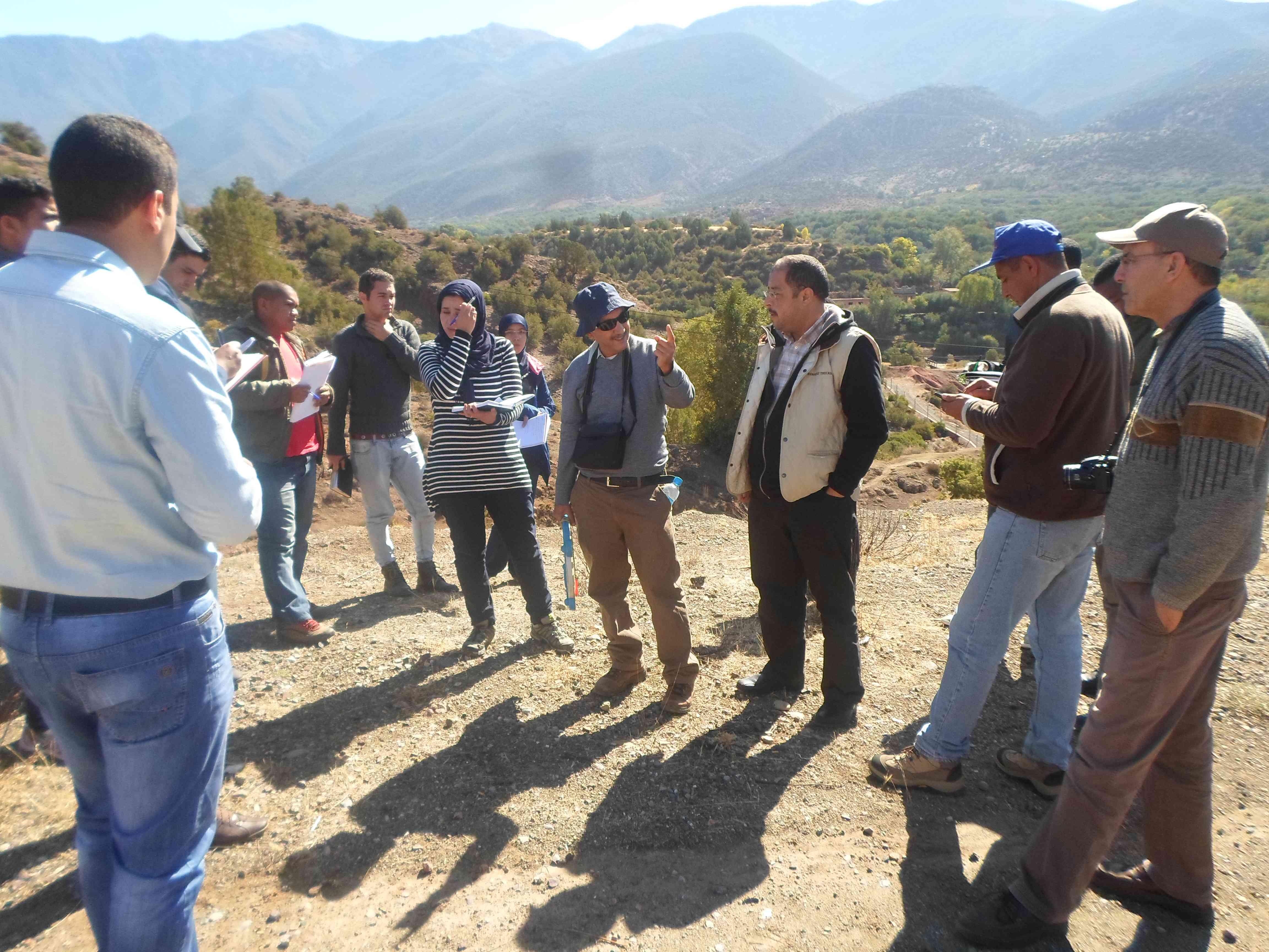 مشروع التكيف مع تغيرالمناخ في حوض تانسيفت في المغرب