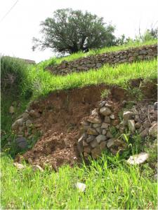 l'erosion