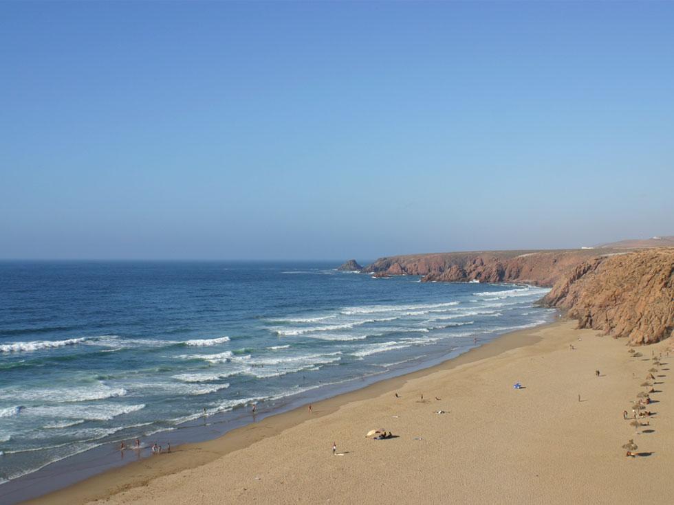 littoral du maroc